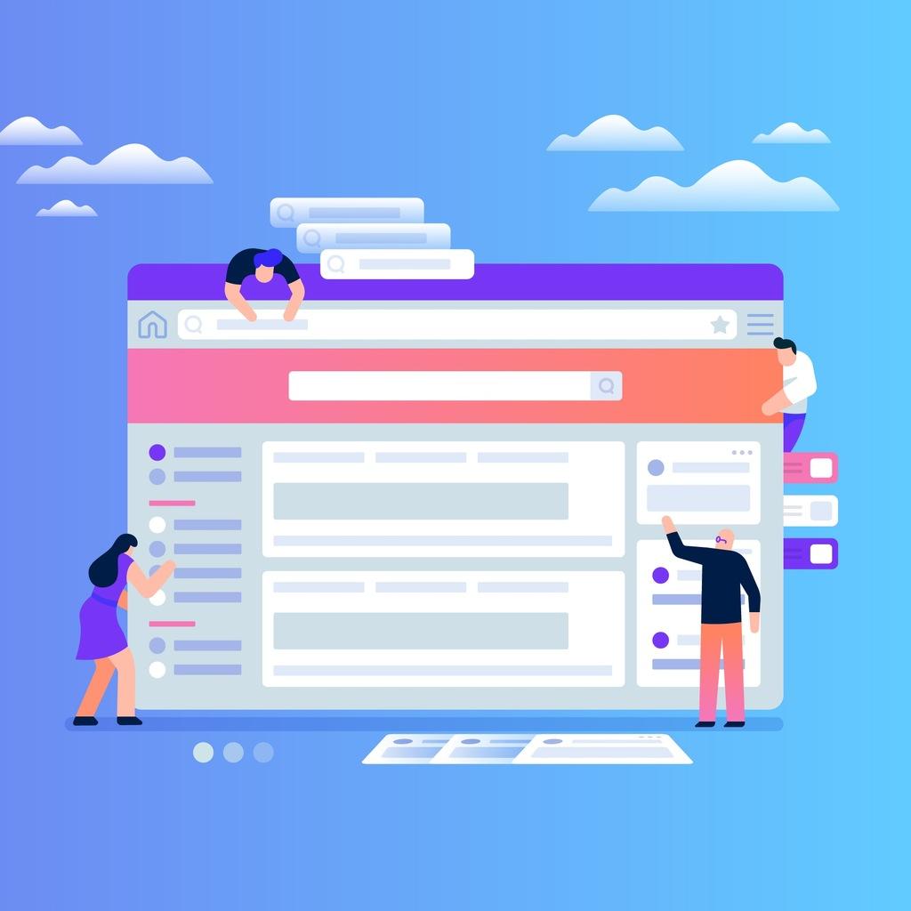Strona internetowa - domena, hosting, SEO + RODO
