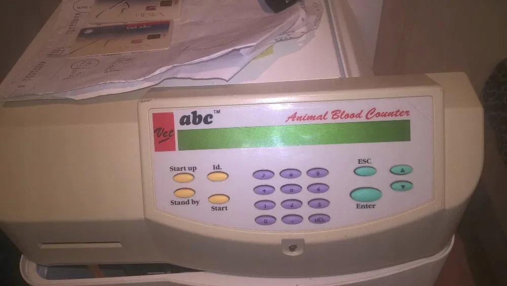 Analizator hematologiczny Abc Vet dla weterynarii