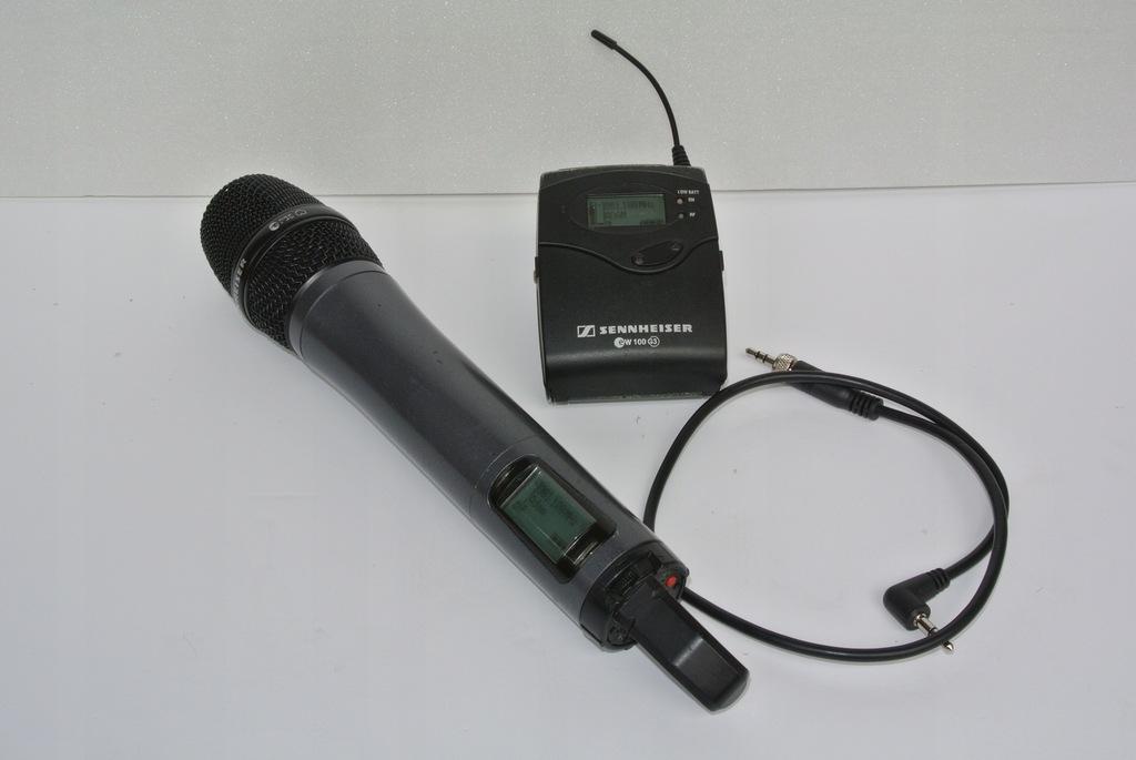 Mikroport Sennheiser SKM100 plus EK100 G3