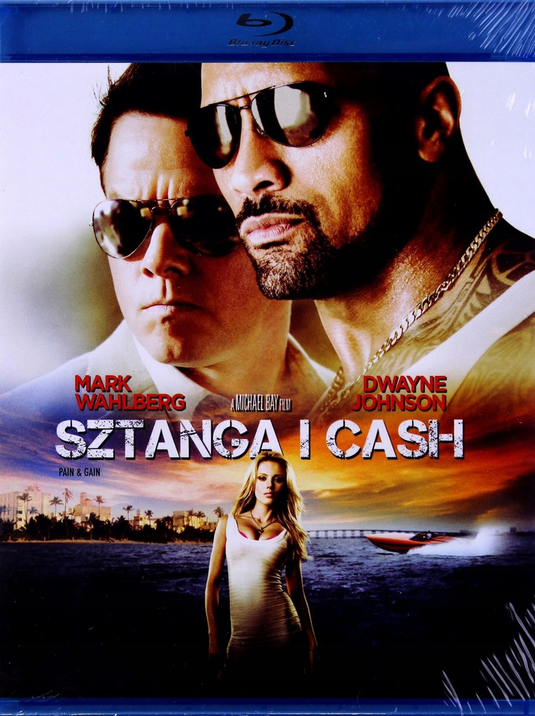 SZTANGA I CASH [Mark WAHLBERG] [BLU-RAY]