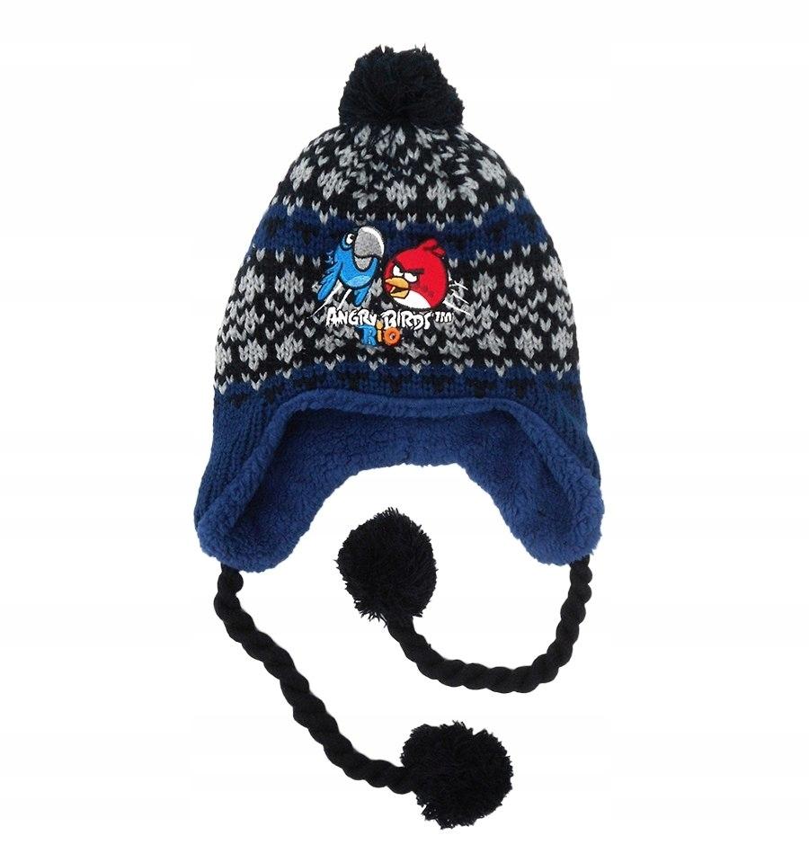 Czapka jesienna / zimowa Angry Birds : Rozmiar: -