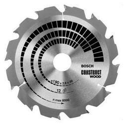 Piła tarczowa Bosch H Construct 160x2,6x20mm 12T