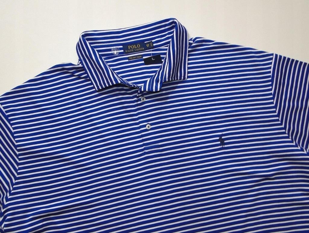 Koszulka Ralph Lauren Polo w Paski / 5 XL XXXXXL