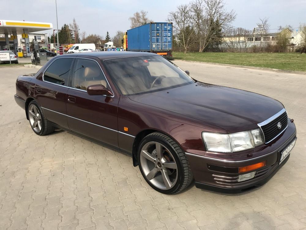 Lexus Ls 400 4 0 V8 245 Km Youngtimer Klasyk 8101560390 Oficjalne Archiwum Allegro