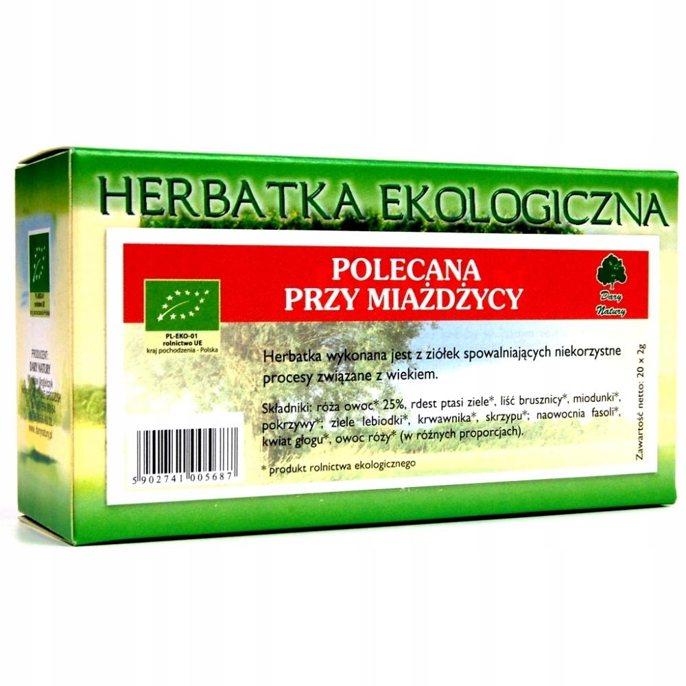 Polecana Przy Miażdżycy Herbata Eko 20X2 Miażdżyca