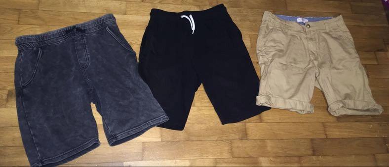 Spodnie dresowe spodenki reserved h&m 146 6szt