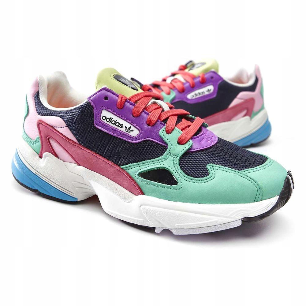 Buty Adidas FALCON W sneakersy kolorowe 38