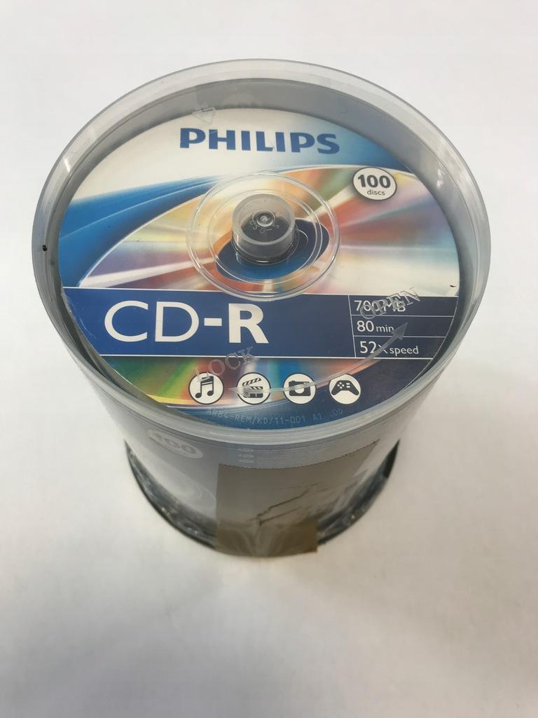 Verbatim Płyty CD-R 100szt 700MB