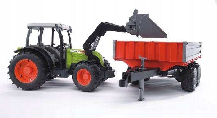 BRUDER Traktor Claas Nectis 267F z ładowarka