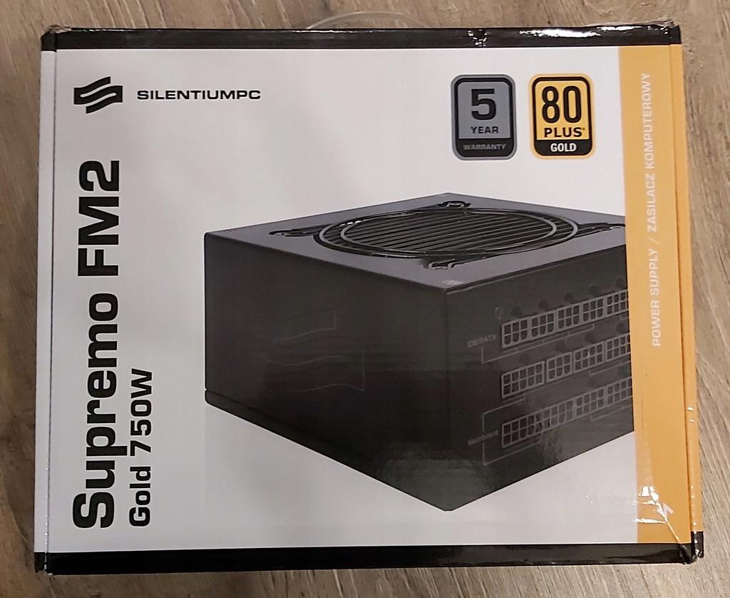 Zasilacz SilentiumPC Supremo FM2 Gold 750 W