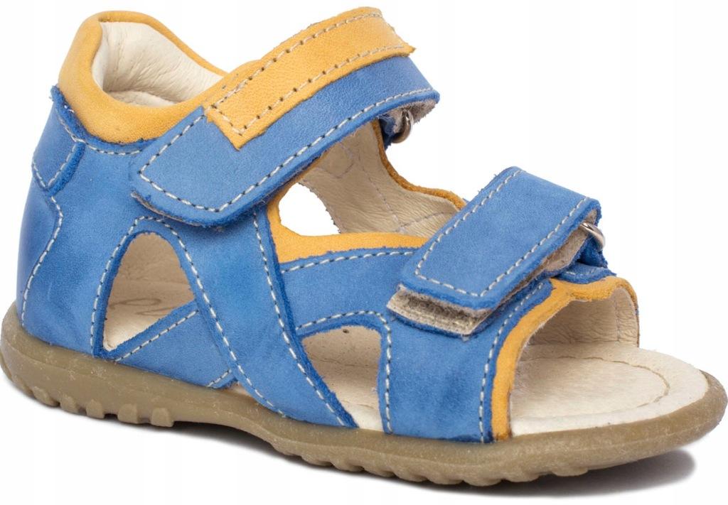 EMEL roczki e2086 sandały sandałki prof r 21 niebi