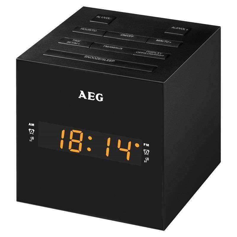 Radiobudzik AEG MRC 4150 czarny (kolor czarny)