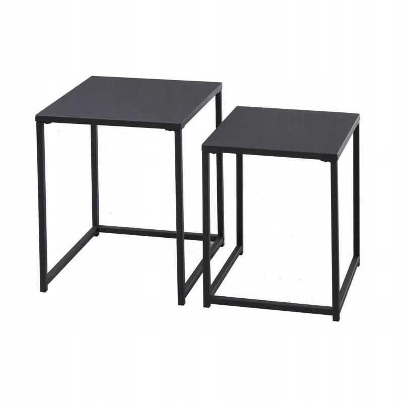 Komplet stolików kawowych BLACKS 40 cm