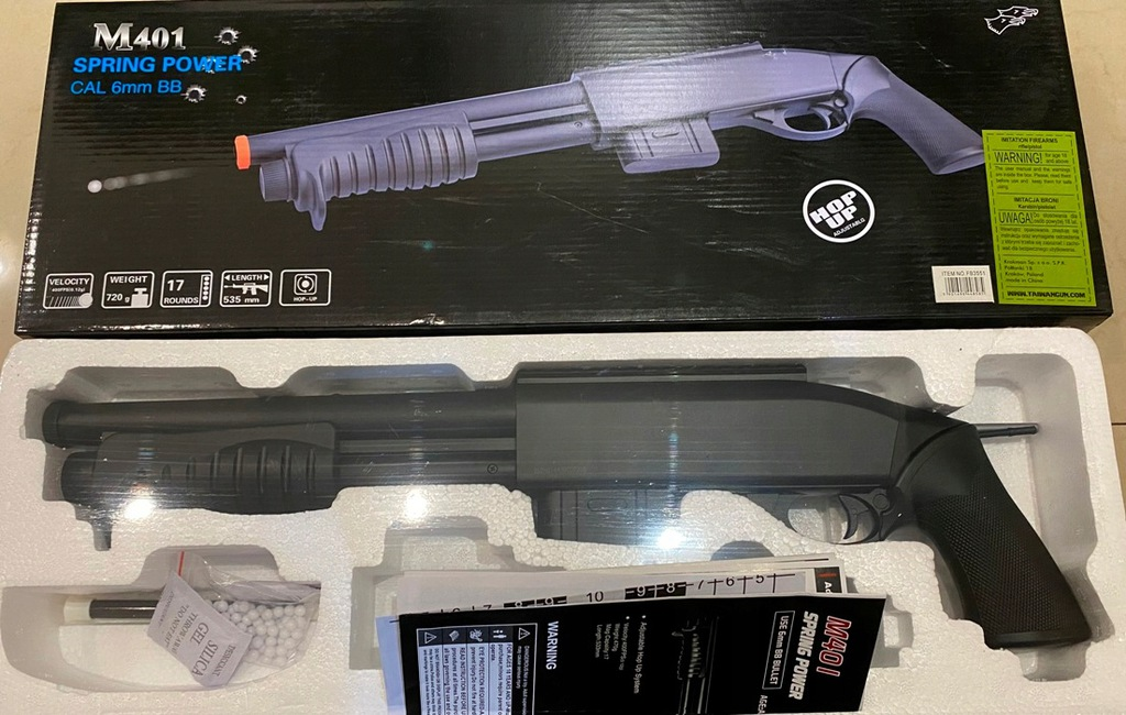 Replika Strzelby M401 6mm ASG