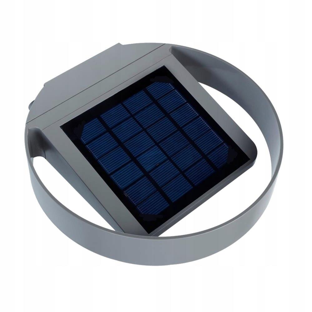 GB130 46761 Solarna lampa ścienna okrągła led 3W
