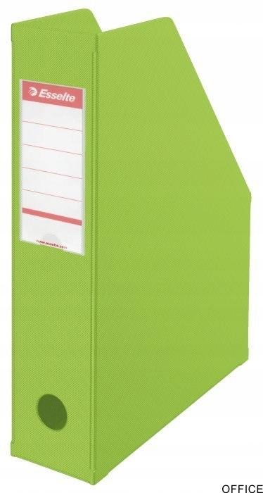 Pojemnik składany A4 70mm zielony ESSELTE PVC 5600