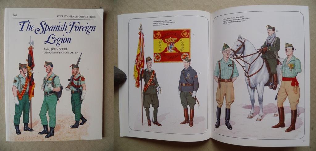 Hiszpańska Legia Cudzoziemska Monografia GB 1985