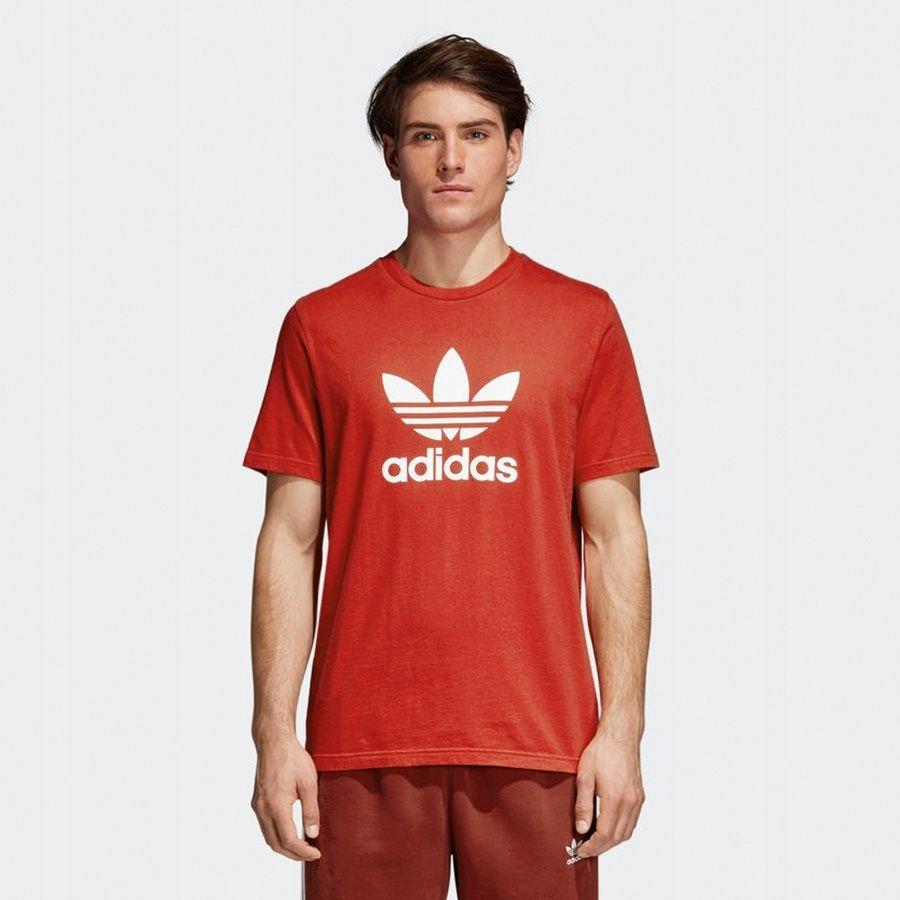 Koszulka adidas Originals Treofil CX1895 S czerwon