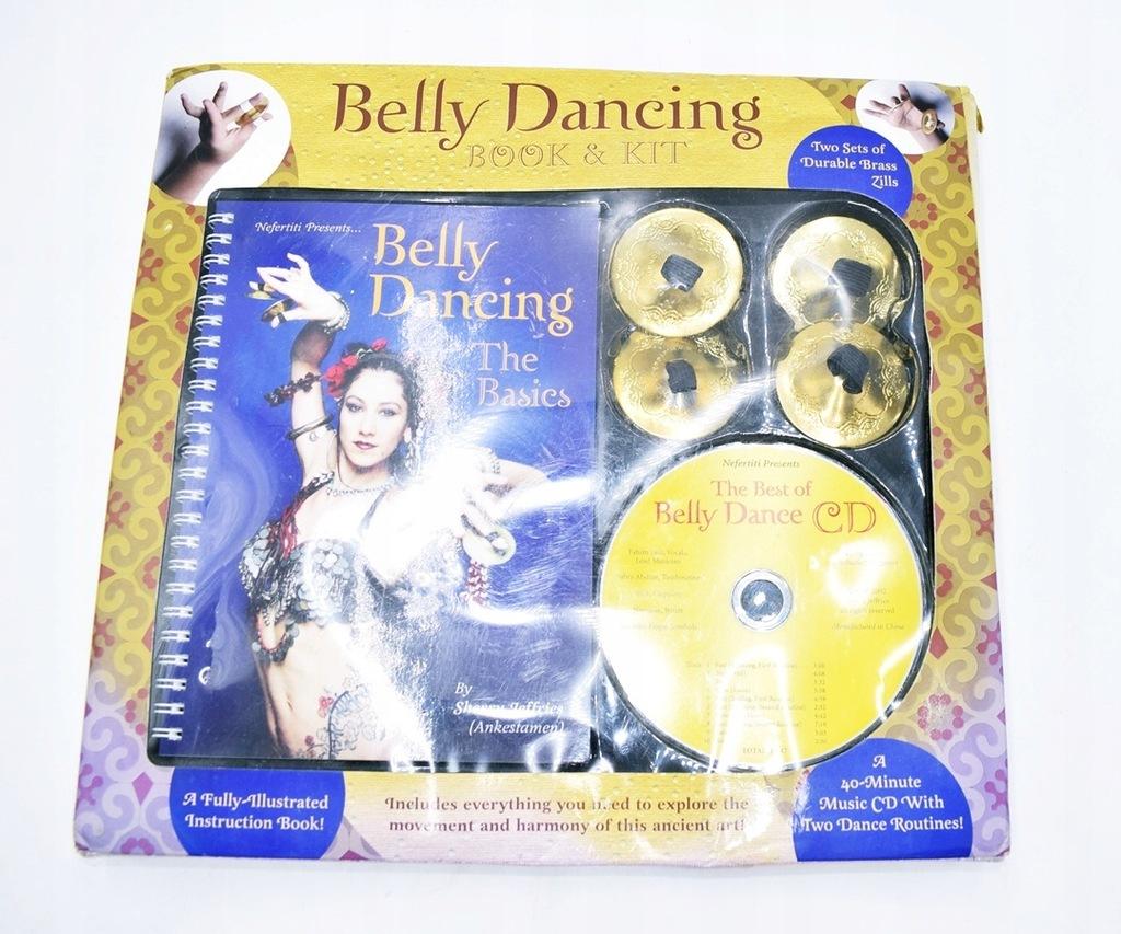 5326-8 BELLY DANCING... k#o ZESTAW DO NAUKI TANCA