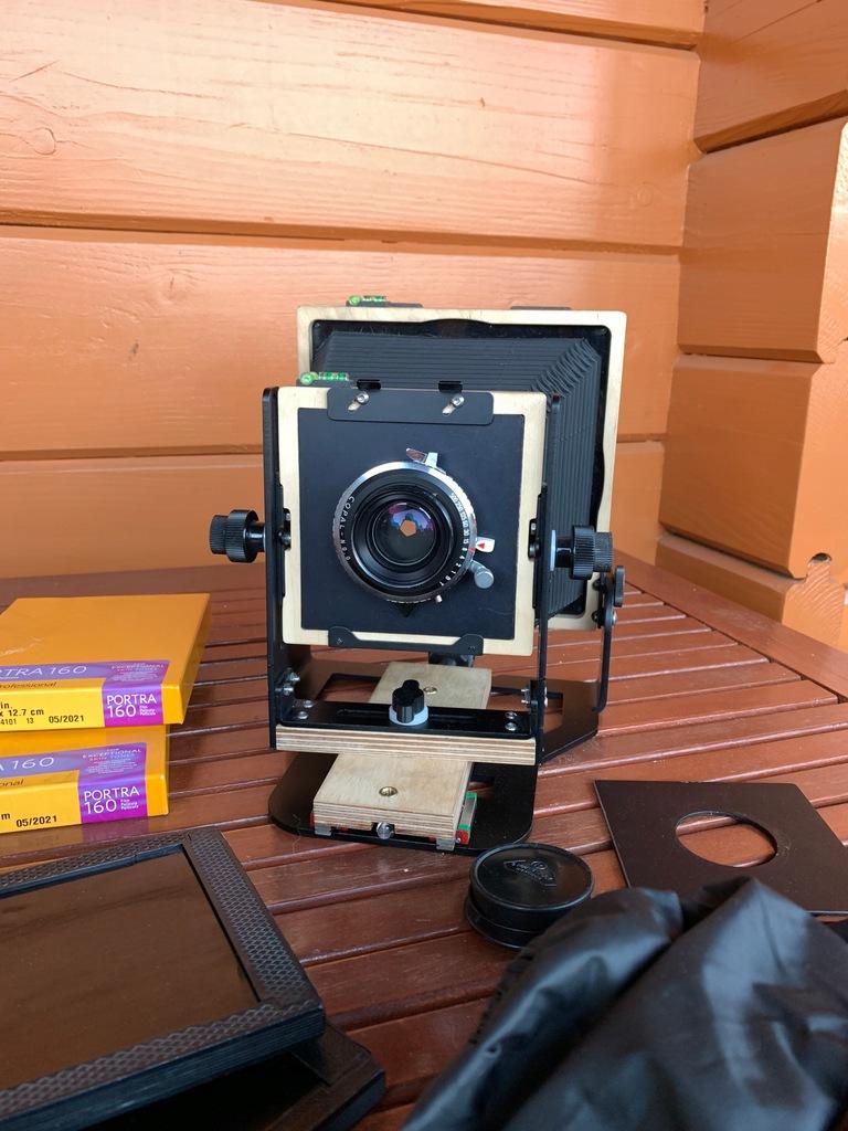 Intrepid Camera mk IV, Rodenstock 135mm, Portra