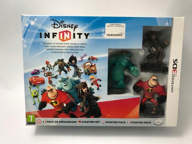 DISNEY INFINITY NINTENDO 3DS ZESTAW STARTOWY