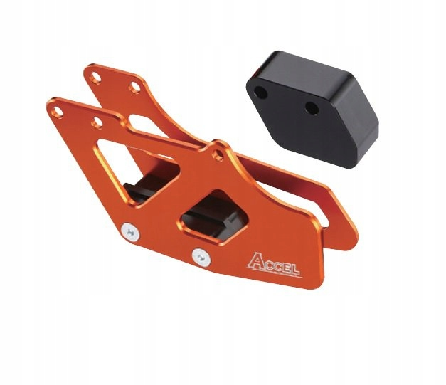 Prowadnica łańcucha alu Accel pomarańc KTM EXC 250