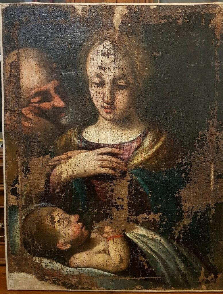Madonna do renowacji XVIw.