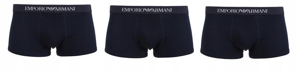 Bokserki EMPORIO ARMANI 3PAK Mix4 XL