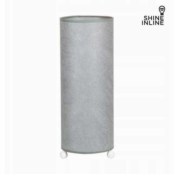 Lampa stołowa Celulóza Srebro by Shine Inline