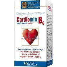 Cardiomin B6 60 tabl. PRZY NADCIŚNIENIU TĘTNICZYM