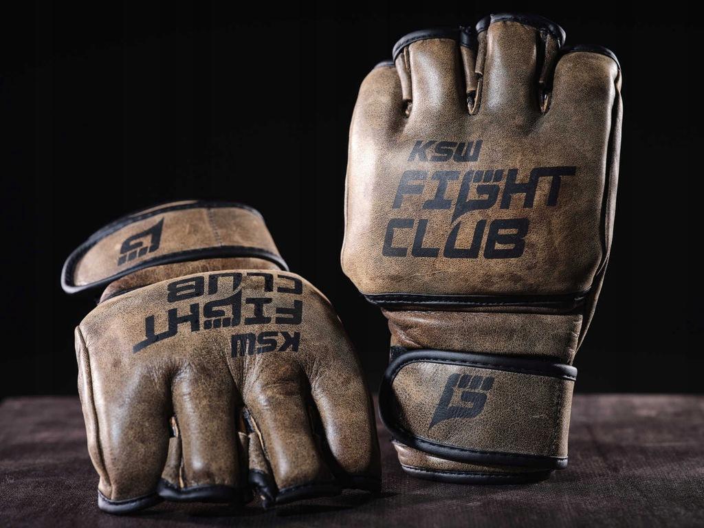 Rękawice skórzane FIGHT CLUB