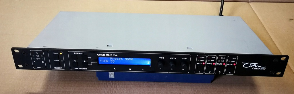 Kontroler Dźwięku OHM CRED MK2 in 2 out 4 Procesor