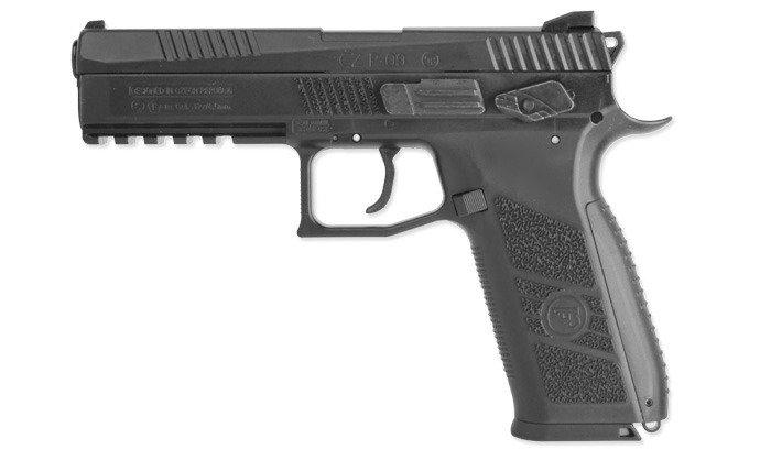 Wiatrówka pistolet CZ P-09 Blow Back 4,5mm Co2 ASG