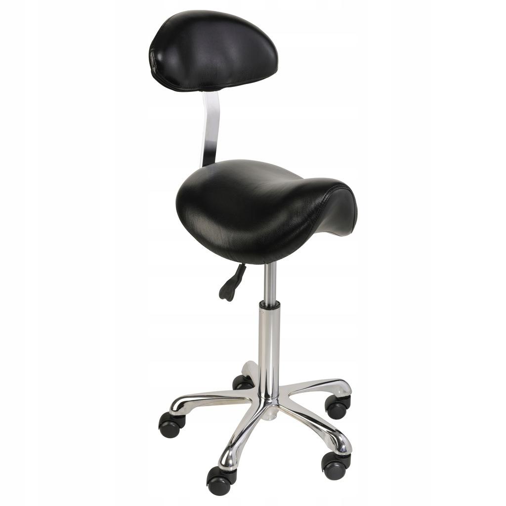 Krzeslo Siodlowe Obrotowe Regulowane Kosmetyczne 7495301101
