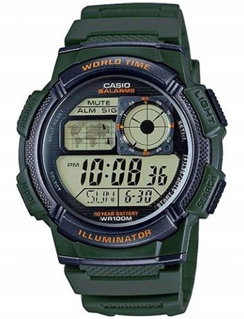 Zegarek Męski CASIO 10 Bar do Pływania AE-1000-3A