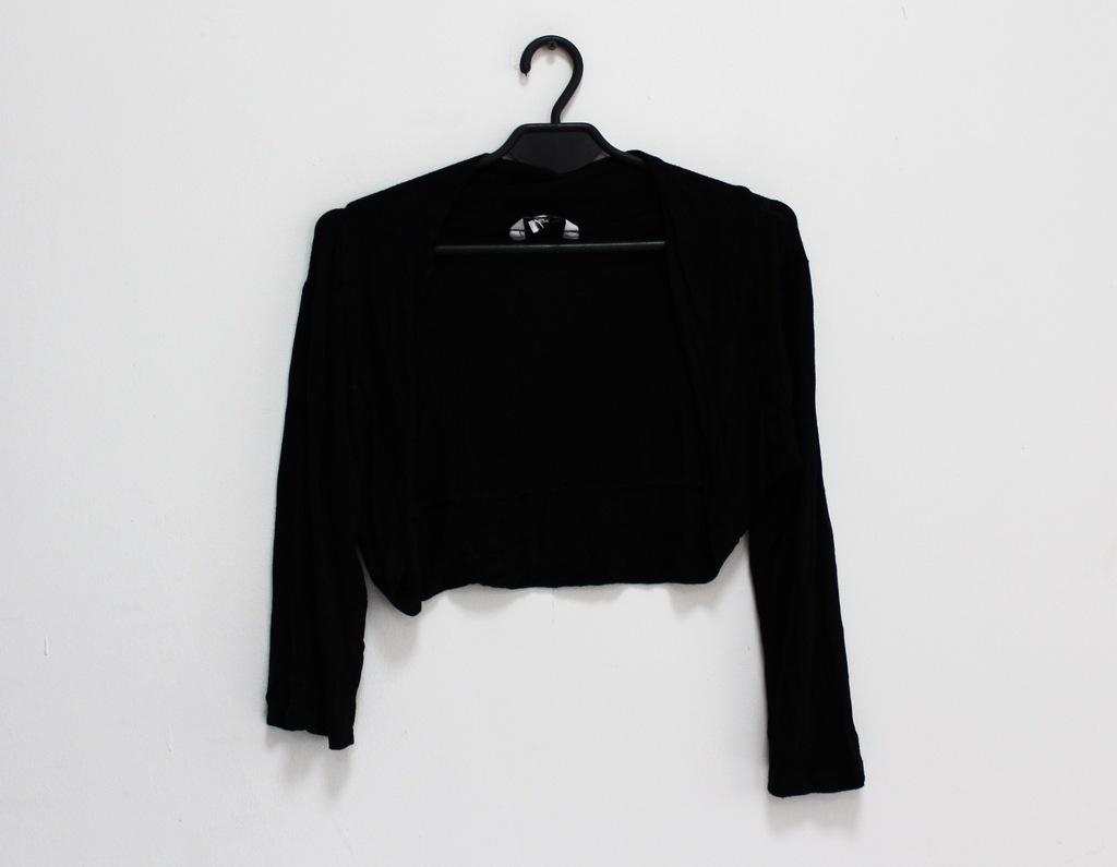 New Look czarne bolerko basic L 40