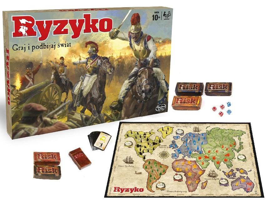 Gra Strategiczna Ryzyko Hasbro B7404 Wersja Pl 6822576019 Oficjalne Archiwum Allegro