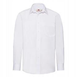 MĘSKA koszula POPLIN LONG FRUIT biały 2XL