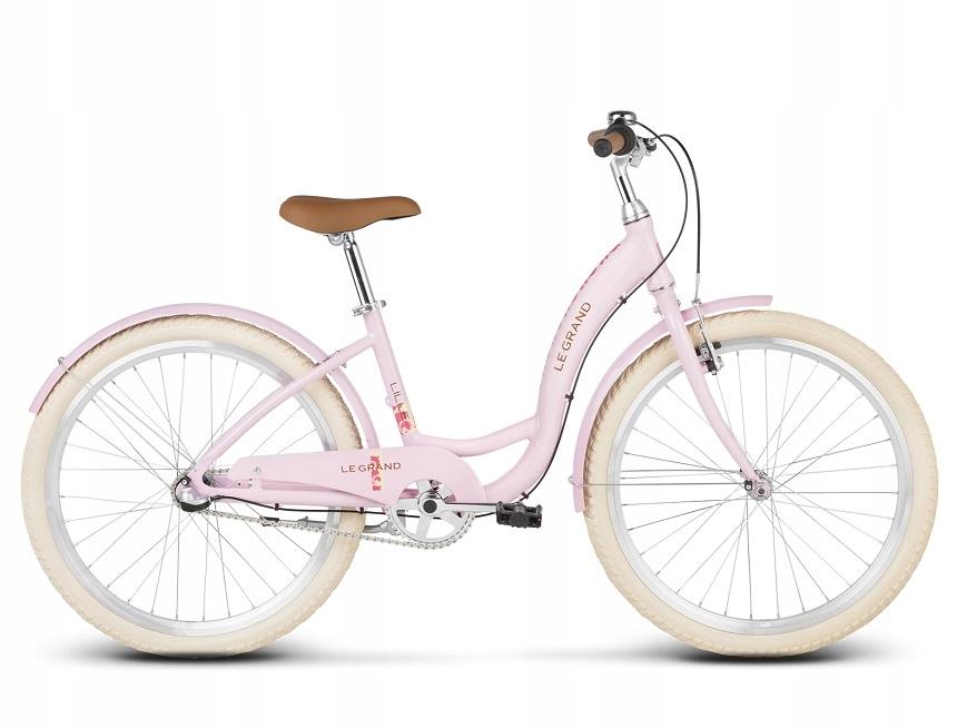 Rower Miejski Dla Dziewczynki Le Grand Lille Jr 24 7643059326 Oficjalne Archiwum Allegro