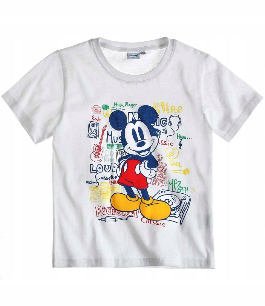 Myszka Mickey 116 koszulka t-shirt krótki rękaw