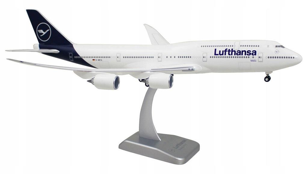 Boeing 747-8 Lufthansa model samolotu 1:200