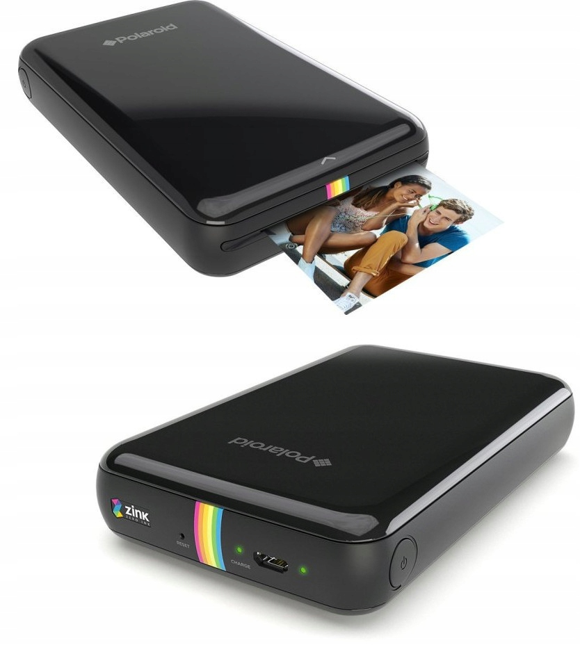 Drukarka bluetooth Polaroid Zip Printer czarna