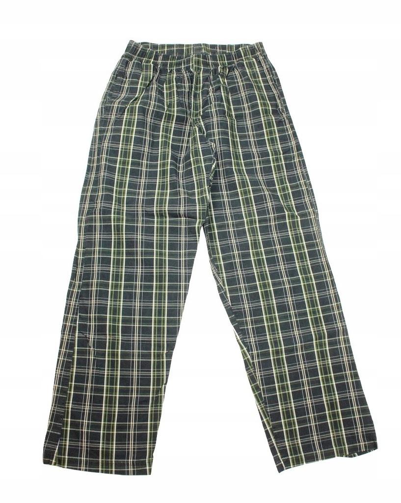 2711J22 NEXT spodnie od piżamy męskie kratka M