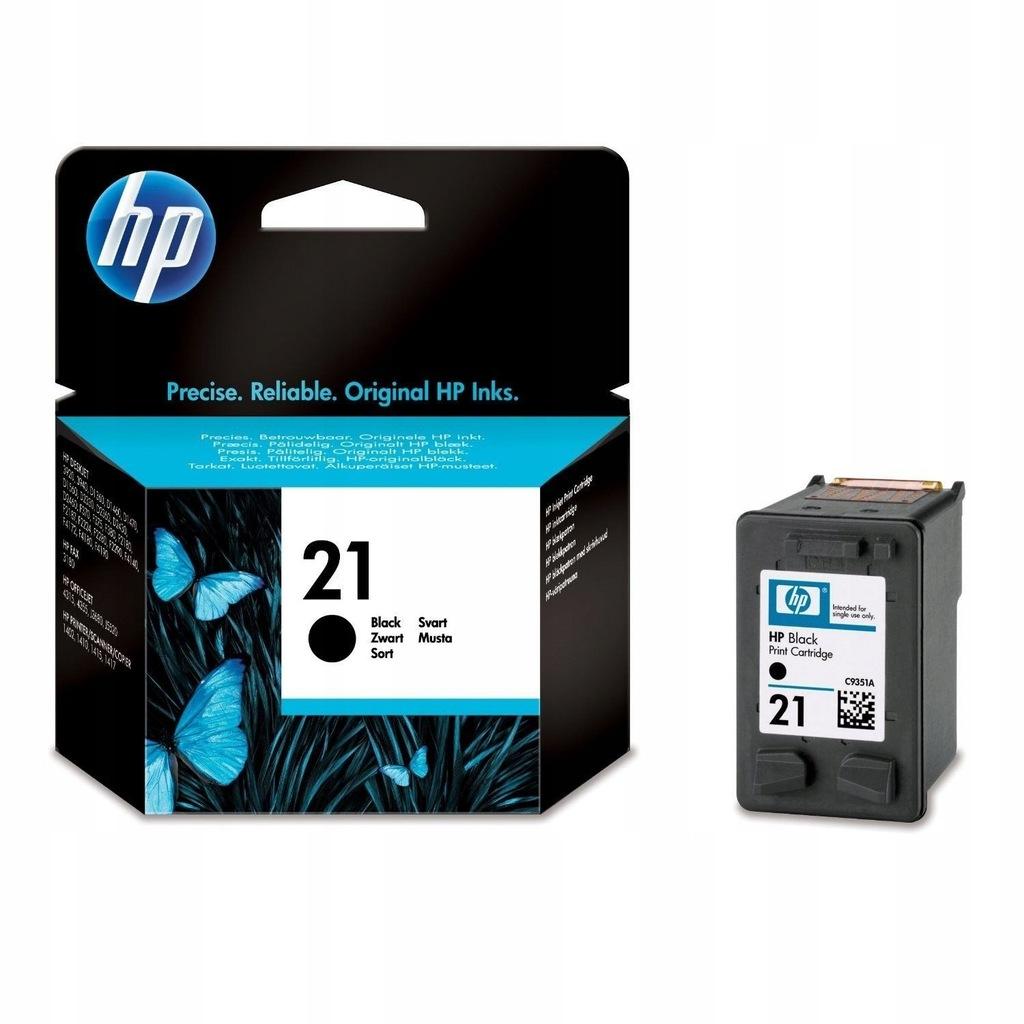 Tusz HP 21 C9351AE 5ml BK Oryginał NO BOX
