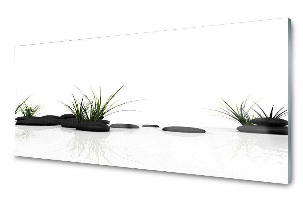 Lacobel Panel Szklany Ścienny Trawa Dekor 120x60