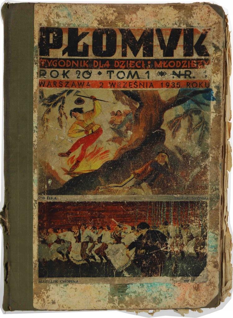 Płomyk Tygodnik dla Dzieci i Młodzieży 1935 t. I