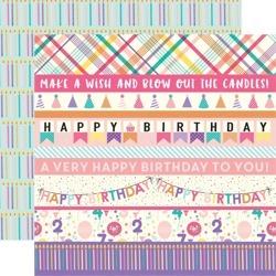 Papier 30x30 - Echo Park - Happy Birthday