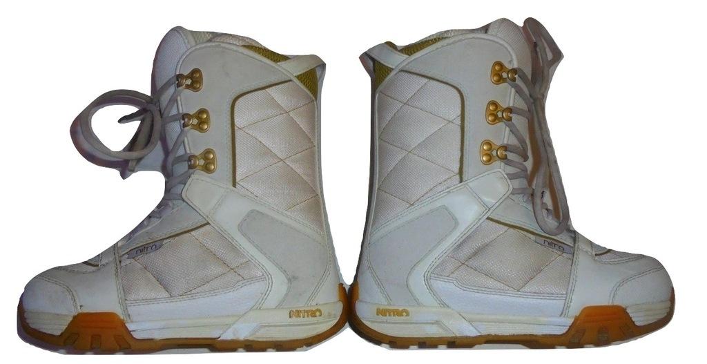Buty snowboardowe NITRO BARRAGE roz. 23,5 (36,5)