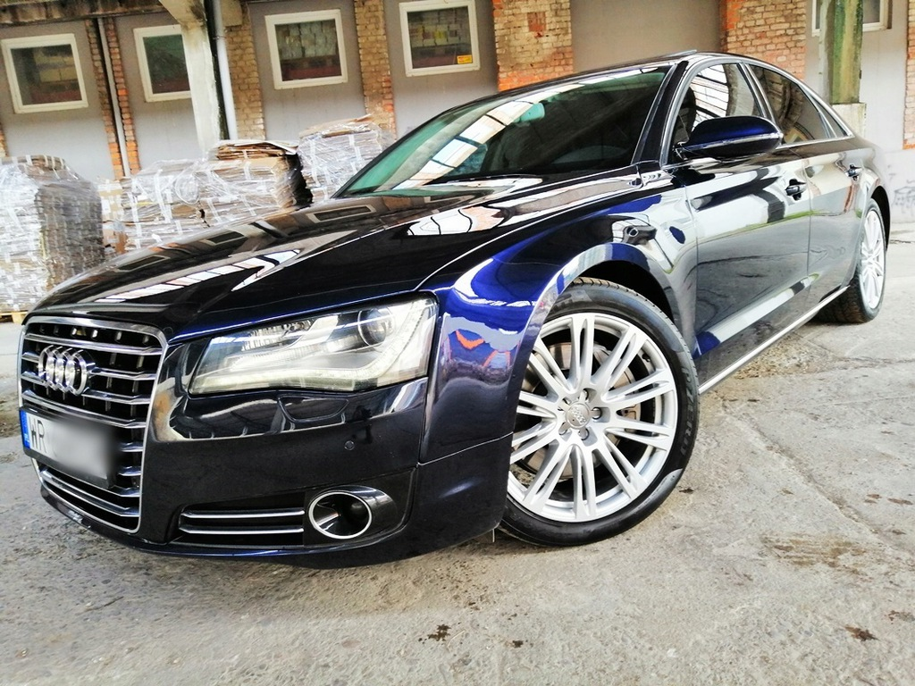 Audi A8 4 2 Tdi 4x4 350km Masaze Tv Kamera Zamiana 9005961361 Oficjalne Archiwum Allegro