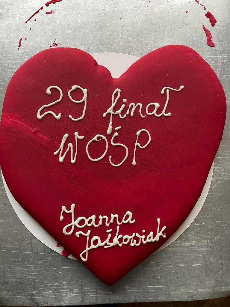 Piernikowe serce - Joanny Jaśkowiak